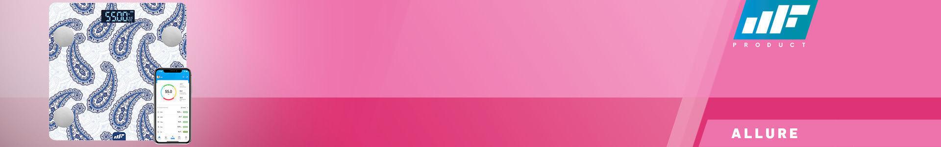 MF Product Allure 0532 Vücut Analizli Akıllı Tartı Sultan en iyi fiyata stokta!