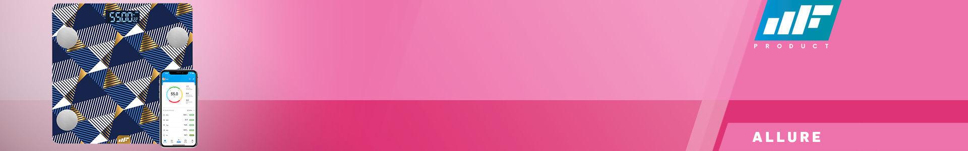 MF Product Allure 0532 Vücut Analizli Akıllı Tartı Yakamoz resmi