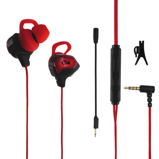 MF Product Strike 0635 Mikrofonlu Kablolu Kulak İçi Oyuncu Kulaklığı Siyah resmi