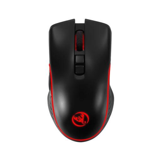 MF Product Strike 0611 Rgb Kablosuz Şarj Edilebilir Gaming Mouse Siyah resmi