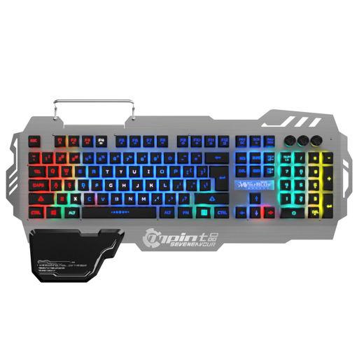 MF Product Strike 0586 Kablolu Mekanik Hisli Membran Gaming Klavye Metal resmi