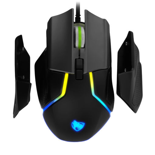 MF Product Strike 0575 RGB Kablolu Gaming Mouse Gri resmi