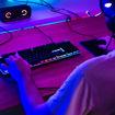 MF Product Strike 0561 Blue Switch Kablolu LED Işıklı Yarı Mekanik Gaming Klavye Siyah resmi