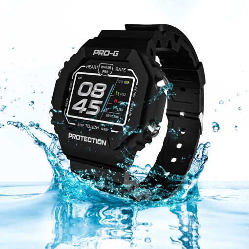 MF Product Wear Pro-G 0544 Akıllı Saat Siyah resmi