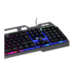 MF Product Strike 0197 RGB Kablolu Mekanik Hisli Gaming Klavye Siyah resmi