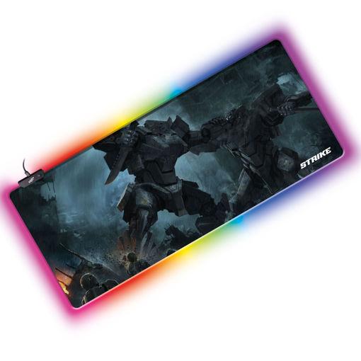 MF Product Strike 0657 Işıklı Gaming Mouse Pad resmi