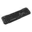 MF Product Shift 0080 Multimedya Wireless Klavye Siyah resmi